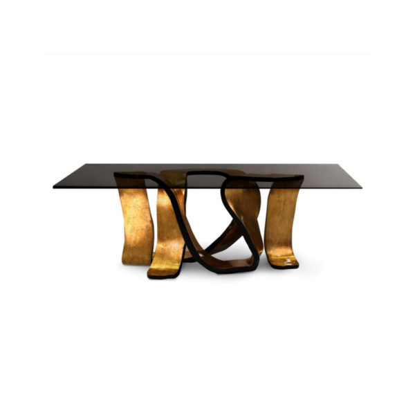 Designer table, quality manufactured in Europe.