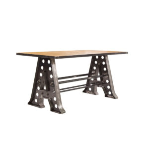 Industrial table, quality manufactured in Europe.